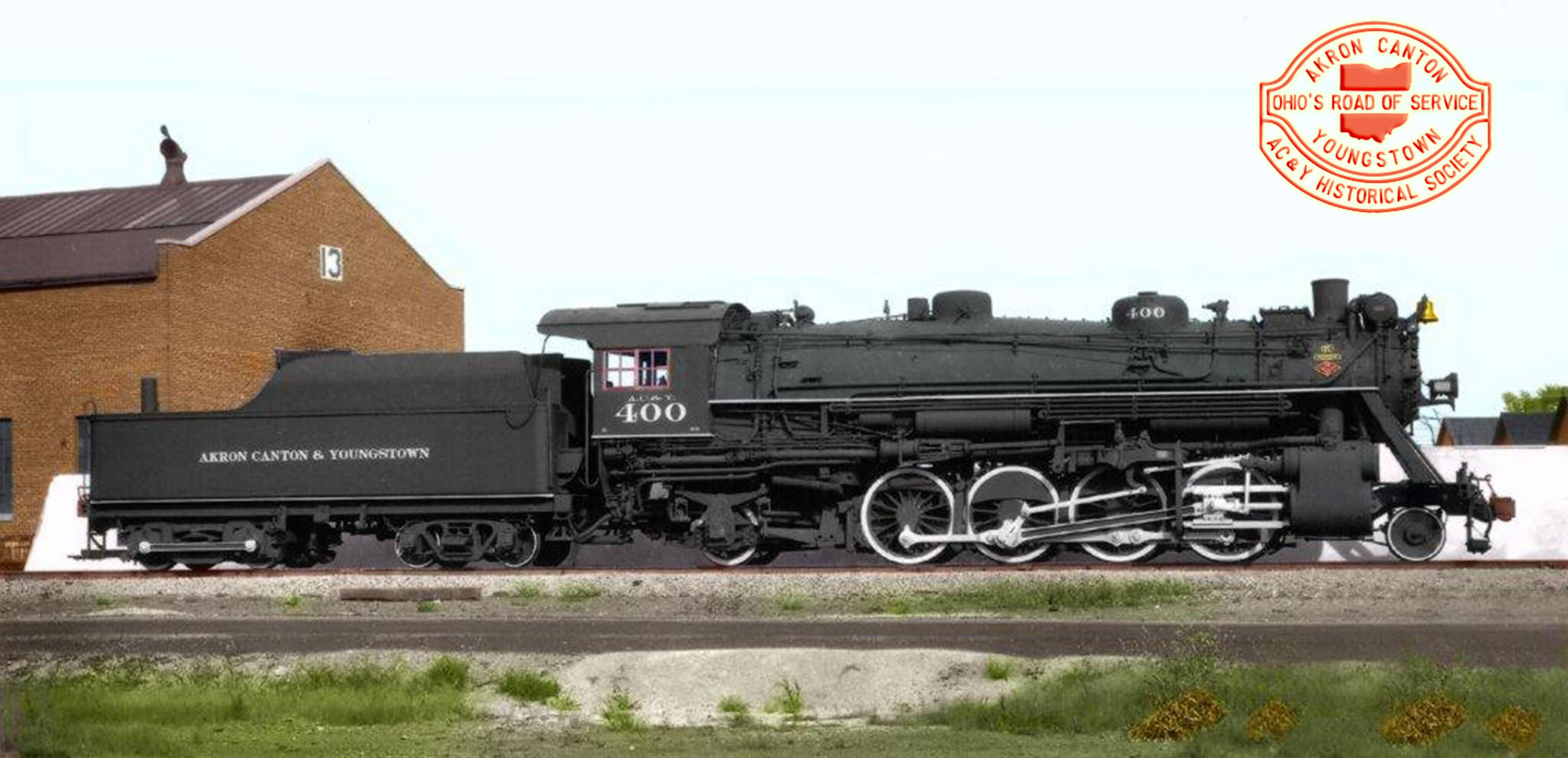 Lima 2-8-2 ACY 400 Steam Locomotive