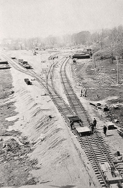 AC&Y Railway Track Laying