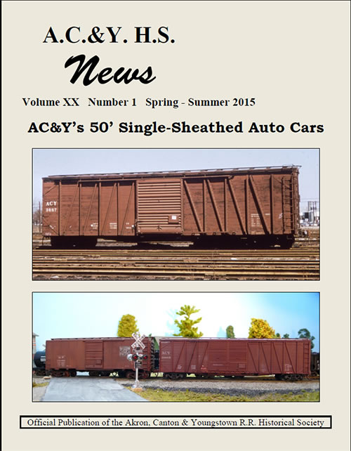 Spring Summer 2015 issue of the AC&Y News