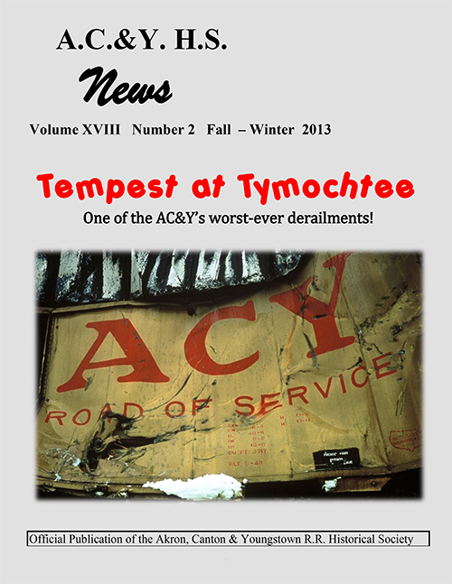 Fall and Winter 2013 issue of the AC&Y News