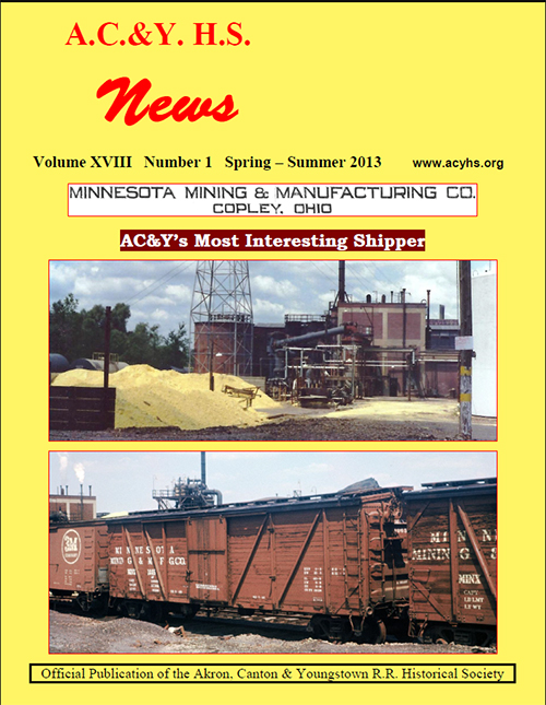 Spring and Summer 2013 issue of the AC&Y News